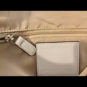 Coach Bags - SOLD!! COACH Shoulder Bag w/Leather Strap & Buckle
